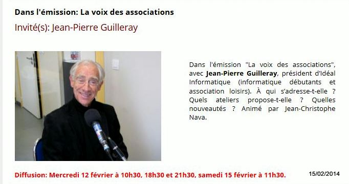 Jean-Pierre GUILLERAY sur RPV Saint-Malo
